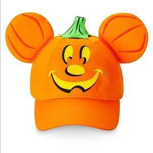 Diney Parks Mickey Light-Up Halloween Baseball Cap
